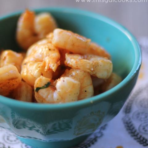 Recipe: Grilled Cilantro Lime Shrimp
