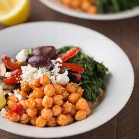 Mediterranean Veggie Rice Bowls