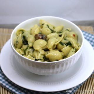 Recipe: Simple Spinach & Sausage Pasta