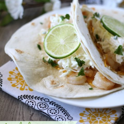 Recipe: Tequila Lime Shrimp Tacos // Spiked! Recipe Challenge