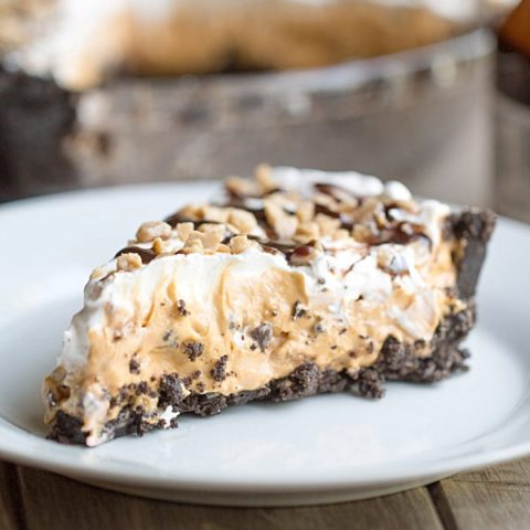 Butterscotch Toffee Pudding Pie