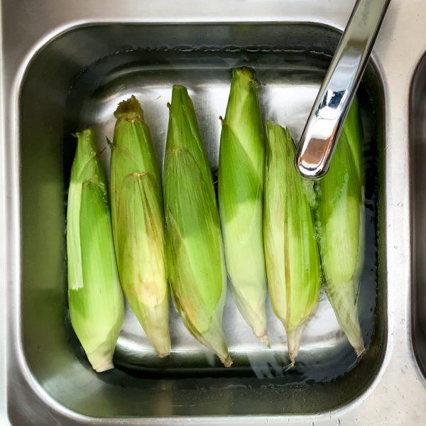 bright-green-corn-husks