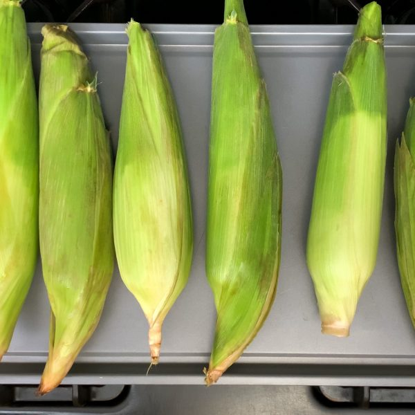 spread-the-corn-out-on-a-baking-sheet